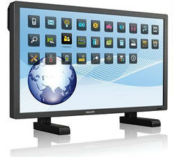 Professional  Optical IR Multitouch Monitors